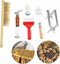 Cafopgrill Bee Tool, 7Pcs/Set of Beekeeping