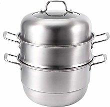 Cafopgrill Steamer Pot, 3 Layer Food Steamer Pot