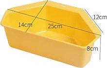 CAIFEIYU Kitchen Sink Triangle Shelf Drain Basket