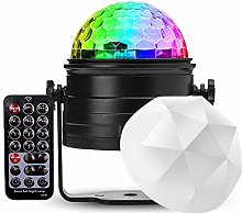 Caige Night Light Projector, 2 in 1 Party Disco
