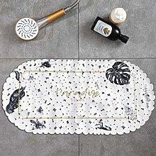 caihuashopping Bathroom Rug Mat PVC Bathroom