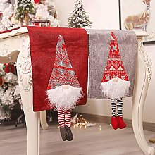 CAIJ Christmas Table Runner, 7FT Embroidered Table