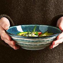 CAIJINJIN Bowl Bowl Creative Irregular Ceramic