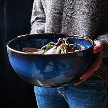 CAIJINJIN Bowl Household 9 Inch Salad Bowl