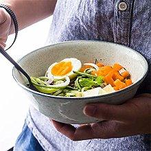 CAIJINJIN Bowl Large Fruit Salad Bowl Soup Ramen