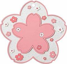 CaiKeRuiQiMaoYiYouXianGongSi Flower-Shape Bowl Mat