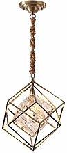 CAIMEI Hanging Light Lamp Home K9 Crystal