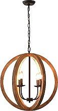 CAIMEI Lamp Hanging Light 4 Light Round Hallway