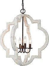 CAIMEI Lamp Hanging Light Wooden Hallway