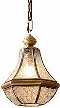 CAIMEI Pendant Lamp Attic Bar Counter Copper