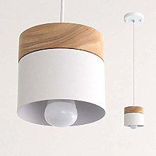 CAIMEI Pendant Light, Wood Ceiling Lighting