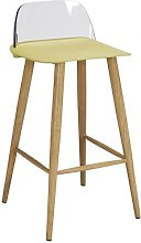 Caire Bar Stool Mikado Living Seat Finish: Lime