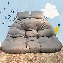 CAIXIN Hanging Egg Chair Cushion,thick Double