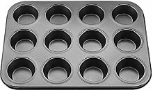 Cake Pan,Non-Stick Carbon Steel Bakeware Muffin