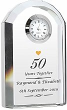 CalEli Gifts Personalised Golden Anniversary