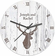 CalEli Gifts Personalised Highland Stag Shabby