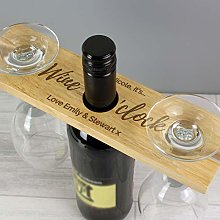 CalEli Gifts Personalised Wine Butler and Bottle