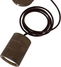 Calex - Giant Bronze Pendant E40 Cord - Brown