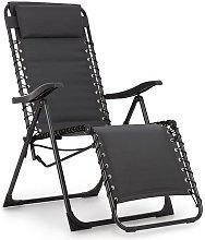 California Dreaming Sun Lounger, Upholstery, Steel
