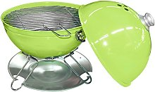 California Table Barbecue with Lid, Lime Green