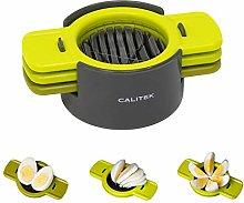 Calitek Egg Slicer 3 in 1 Multi Tool Cut Wedge
