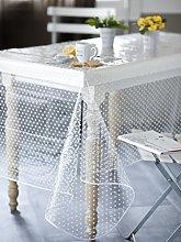 CALITEX Agnos PVC Tablecloth, Transparent, PVC,
