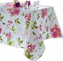CALITEX AJACCIO Round Oilcloth Tablecloth 140 x