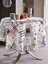 CALITEX Authentic Kitchen Rectangular Tablecloth