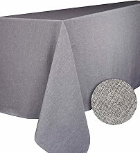 Calitex BROME Round Tablecloth Polyester Grey 180