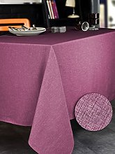 CALITEX Bromine Raspberry Round Tablecloth