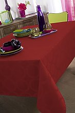 Calitex EVANA Oval Tablecloth Polyester Damask