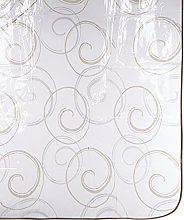 CALITEX Fanta PVC Tablecloth 140x 200cm Gold