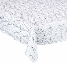 CALITEX Galeria Tablecloth 140 x 250 cm Silver