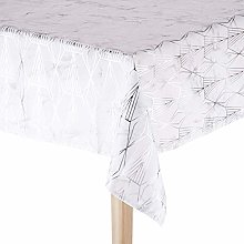 CALITEX Galeria Tablecloth 140 x 350 cm Silver