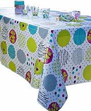 CALITEX GRAPHISME Oilcloth Tablecloth Rectangular
