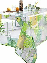 CALITEX Parrot Tablecloth Rectangular 140 x 250 cm