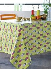 CALITEX Rectangular Oilcloth Tablecloth, PVC,
