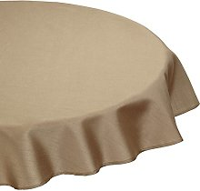 CALITEX Silk Effect Tablecloth Polyester 180x