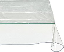 CALITEX Silver Glitter PVC Tablecloth 300 x