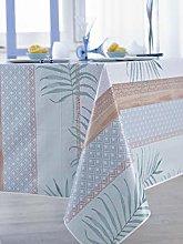 CALITEX Vegetable Graph Oilcloth Tablecloth 140 x