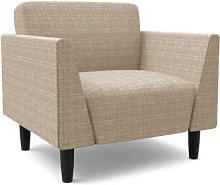 Callier Armchair Mercury Row Upholstery: Beige