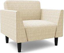 Callier Armchair Mercury Row Upholstery: Light