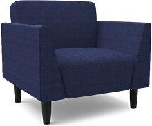 Callier Armchair Mercury Row Upholstery: Navy Blue