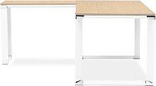 Calliope L-Shape Desk Ebern Designs Colour: