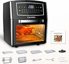 CalmDo Air Fryer, 12 Liters Tower Low Fat Oven, 18