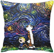 Calvin and Hobbes Pillowcase Home Decorations