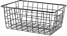 Calvinbi Big Sales Iron Wire Storage Basket