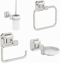 Camberley cloakroom accessory set - Accents