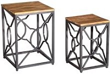 Cambourne Wooden Nest Of Tables In Acacia And