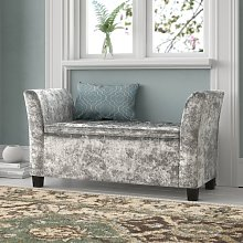 Cambria Window Upholstered Storage Bench